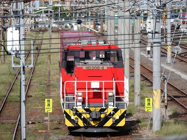 隅田川貨物駅のHD300-4号機