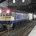 Photos: EF65 2139原色機牽引4073レ 小山11番にて