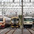 Photos: 川越車両センター臨時快速車両の並び