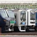 Photos: 川越車両センターまつり2019展示車両の並び