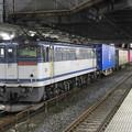 Photos: EF65 2087号機牽引4073レ小山11番待避中