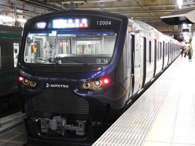 相鉄12000系埼京線新宿から初乗車♪