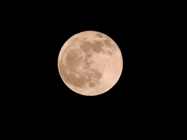 令和元年最後の満月コールドムーン