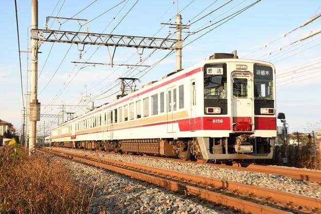 東武日光線6050系新栃木行き