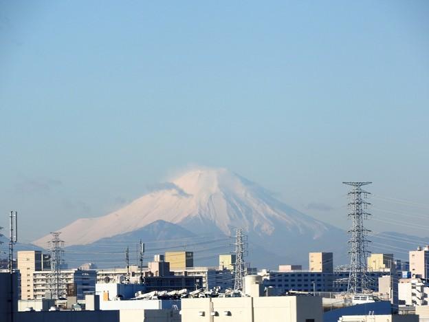 なすの号車窓の富士山