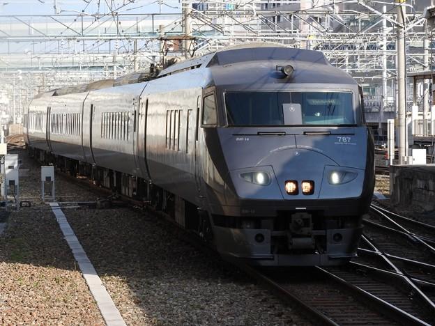 787系特急かもめ15号博多入線