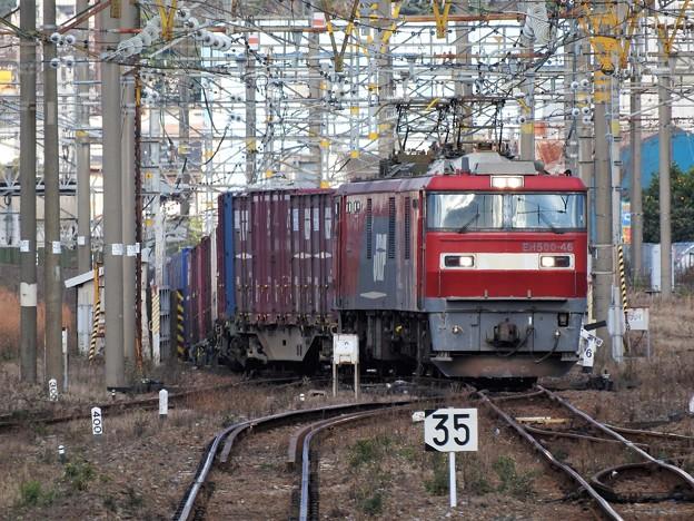 関門トンネルから出た金太郎コンテナ貨物