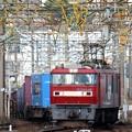 Photos: 金太郎46号機牽引1051レ門司下り貨物線通過