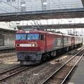 Photos: 金太郎重連単機門司駅上り貨物線停車