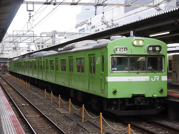 奈良線103系城陽行き