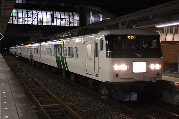 185系B8編成臨時快速早春成田初詣号