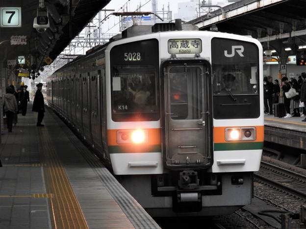 211系中央線高蔵寺行き