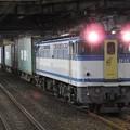 Photos: EF65 2127号機カラシ牽引4073レ小山11番待避