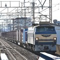 EF66 27号機ニーナ牽引4093レ西浦和通過