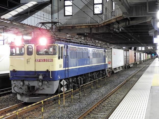 EF65 2096号機牽引4073レ