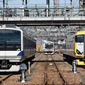Photos: 茨城・栃木・千葉の並び