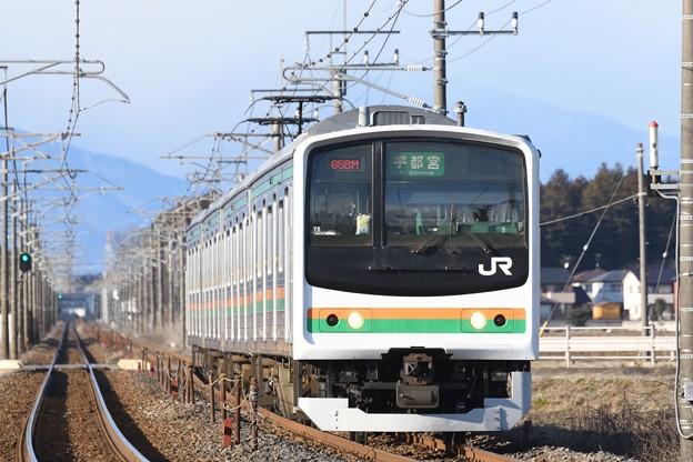 Photos: 205系宇都宮行き658M
