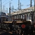 Photos: DE10 1705 + チキ 宇都宮貨物(タ)発車