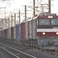 Photos: EH500-1牽引3087レ