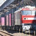 Photos: EH500-35牽引上りコンテナ貨物