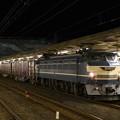 EF66 27牽引4076レ小山12番通過