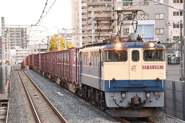 EF65 2067牽引84レ