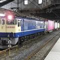 EF65 2074牽引4073レ小山11番待避