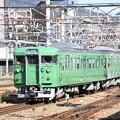湖西線113系京都発車