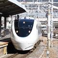 681系特急サンダーバード京都7番入線