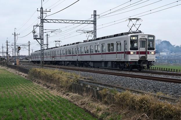東武10030系南栗橋行き前パン
