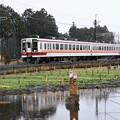 野岩鉄道6050系会津田島行き