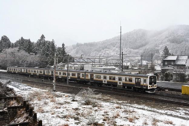 Photos: 雪景色の日光線「いろは」