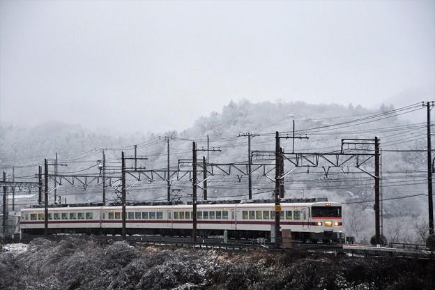臨時特急きりふり雪の東武日光発車