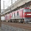EH500 58号機牽引上りコンテナ貨物列車