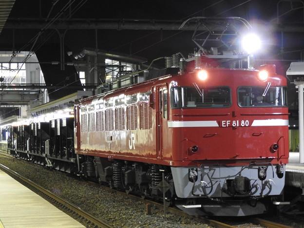 Photos: EF81 80+ホキ4B配9134レ雀宮2番にて