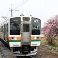 Photos: 211系A8編成小山行き思川2番入線
