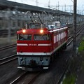 Photos: EF81 95単機宇都宮貨物(タ)通過!