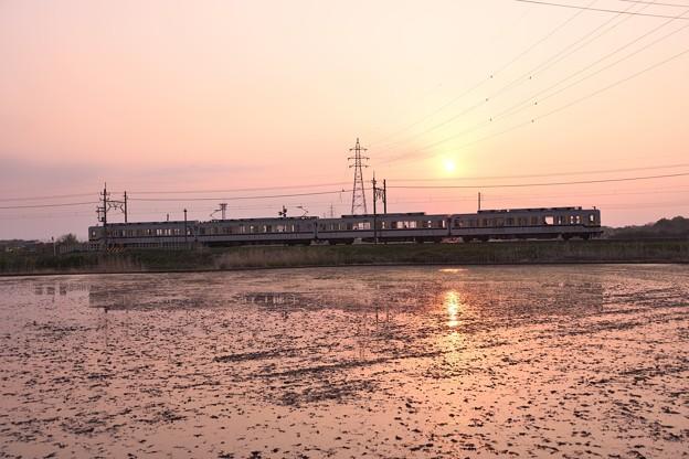 夕陽の東武宇都宮線(2)