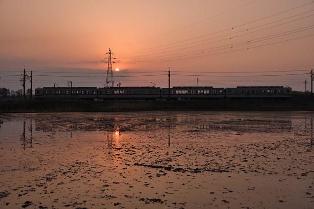 Photos: 夕陽の東武宇都宮線(3)