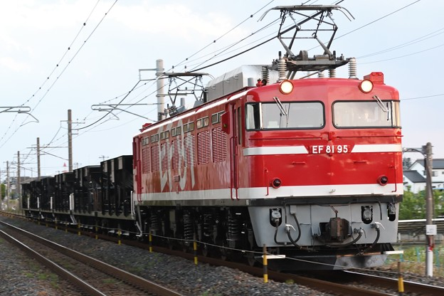 EF81 95牽引宇都宮配給8937レ