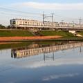 東武宇都宮線20400型水鏡
