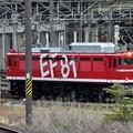 EF81 95号機宇都宮貨物(タ)構内入換え
