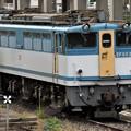 Photos: 宇都宮貨物(タ)にEF65 2127カラシ