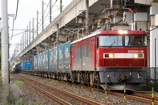 金太郎18号機牽引トヨタロングパスExp4052レ