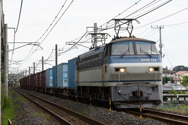 EF66 122号機牽引4093レ