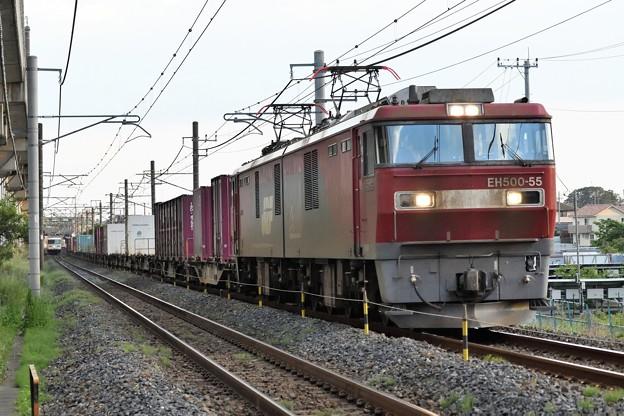 Photos: 金太郎55号機牽引8063レ