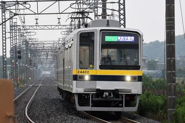東武20400型南栗橋発東武宇都宮行き