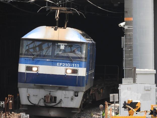 EF210-111牽引5074レ
