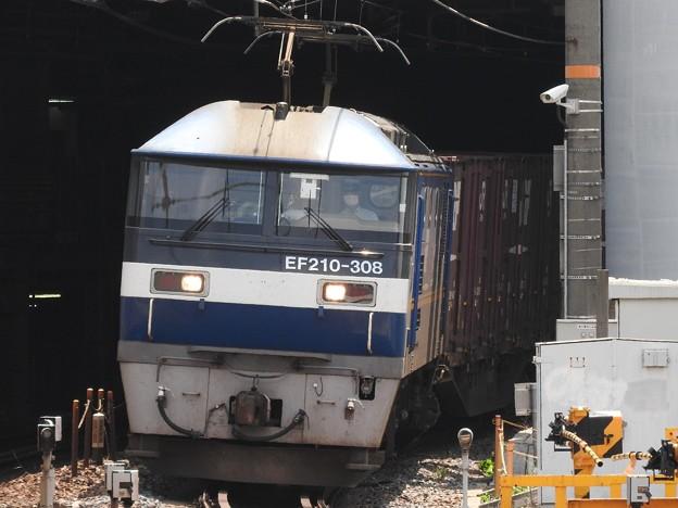 EF210-308号機牽引5070レ