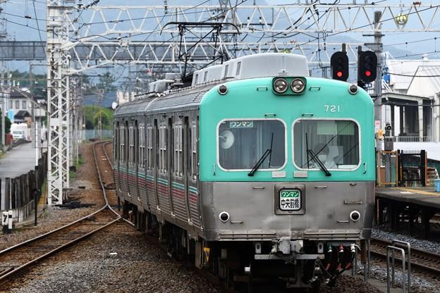 上毛電鉄700形中央前橋行き